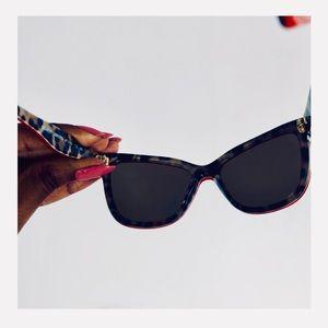 DOLCE & GABBANA  kids leopard sunglasses
